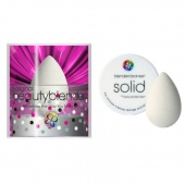 beautyblender спонж beautyblender original и мини мыло для очиcтки solid - фото
