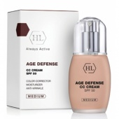 holy land age defence cc cream medium spf50   50 мл - фото