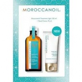Moroccanoil - moroccanoil набор масло лайт 125 мл + крем для рук 75 мл