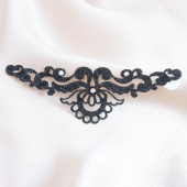 Ines de Castilho - ines de castilho ювелирное украшение для кожи - skin jewellery magic lotus - black, черный