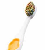 "montcarotte yellow kids brush montcarotte kids smile therapy collection ""soft"" 0,15mm детская зубная щетка montcarotte ""yellow"" ""soft"" 0,15mm - фото"