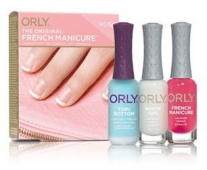 Orly - orly french manicure 4ед.  набор rose