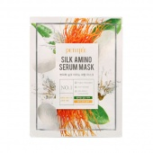 PetitFee & Koelf - petitfee&koelf маска для лица с протеинами шелка petitfee silk amino serum mask 1шт