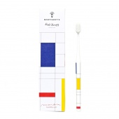 "new! mondrian toothbrush  ""soft""  0,15mm 1 pc/ зубная щетка ""мондриан"" ""soft""  0,15mm - фото"