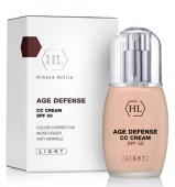 holy land age defence cc cream spf50 light 50 мл - фото