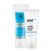 piel cosmetics комплекс «velvet winter fruit. очищение и уход за кожей тела»  - фото
