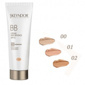 skeyndor natural defence bb anti-age крем 01 светлая кожа 40мл - фото