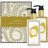 Abahna - abahna набор /mandarin –sbergamot  hand  wash-cream set